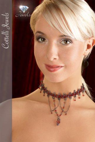 Halsband Perlen